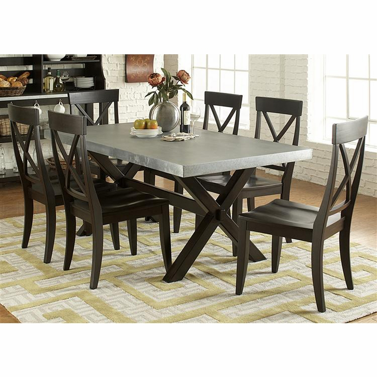 Liberty Furniture - Keaton II 7 Piece Trestle Table Set  - 219-CD-7TRS