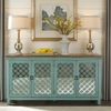 Liberty Furniture - Kensington 4 Door Accent Cabinet - 2011-AC7236