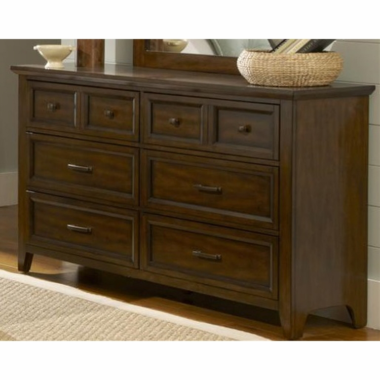 Liberty Furniture - Laurel Creek 6 Drawer Dresser - 461-BR31