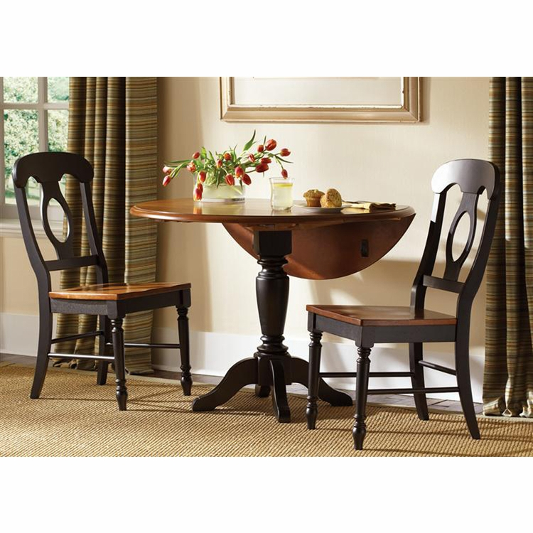 Liberty Furniture - Low Country Opt 3 Piece Drop Leaf Table Set In Anchor Black - 80-CD-O3DLS
