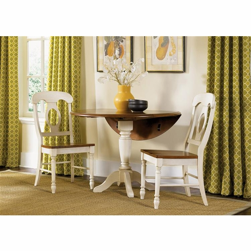 Liberty Furniture - Low Country Opt 3 Piece Drop Leaf Table Set In Linen Sand - 79-CD-O3DLS