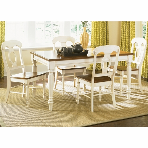 Liberty Furniture - Low Country Opt 5 Piece Rectangular Table Set In Linen Sand - 79-CD-O5RLS