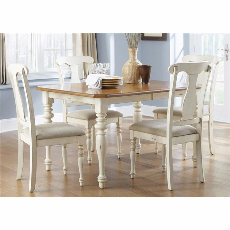 Liberty Furniture - Ocean Isle 5 Piece Rectangular Table Set  - 303-CD-5RLS