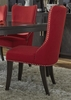 Liberty Furniture - Platinum Upholstered Side Chair (Set of 2) - Red - 861-C6501S-R