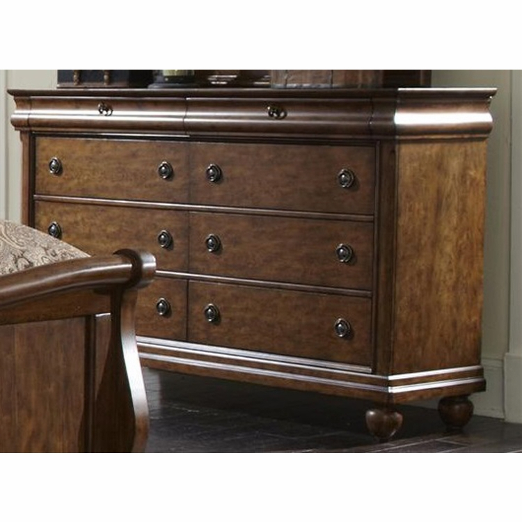 Liberty Furniture - Rustic Traditions 8 Drawer Dresser - 589-BR31