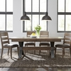 Liberty Furniture - Sonoma Road 5 Piece Trestle Table Set  - 473-DR-5TRS