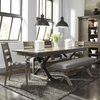 Liberty Furniture - Sonoma Road 6 Piece Trestle Table Set  - 473-DR-6TRS