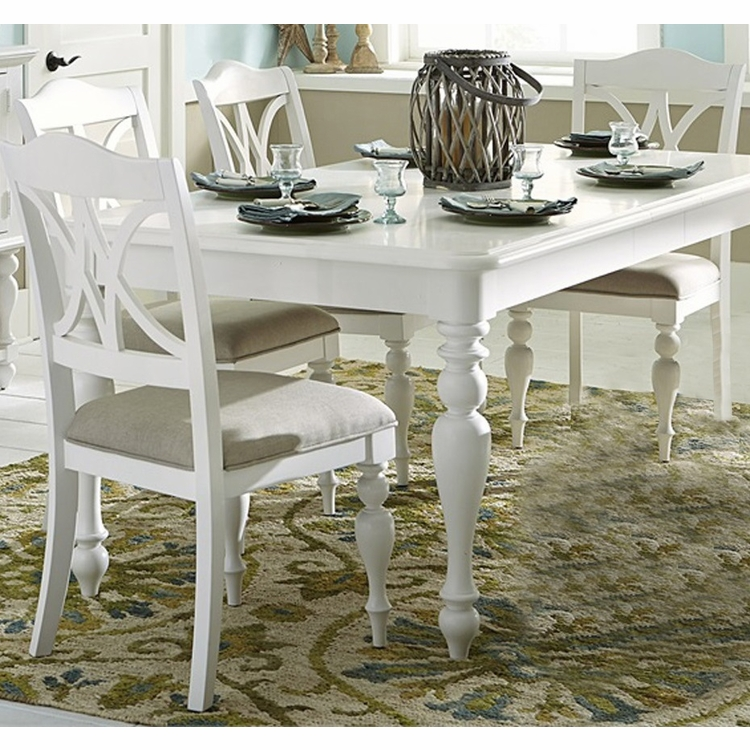 Liberty Furniture - Summer House I 5 Piece Rectangular Table Set  - 607-CD-5RLS