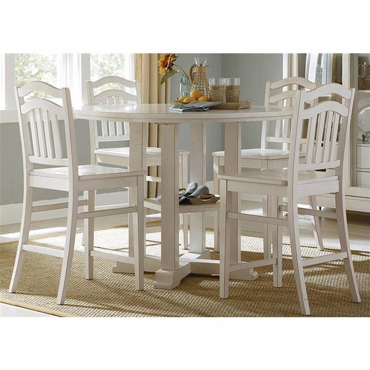 Liberty Furniture - Summerhill 5 Piece Gathering Table Set  - 518-CD-5GTS