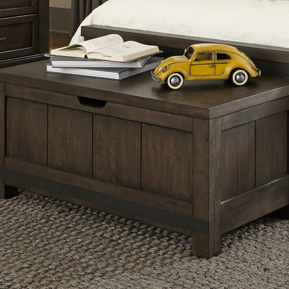 Liberty Furniture Thornwood Hills Toy Chest Bench 759 Br48