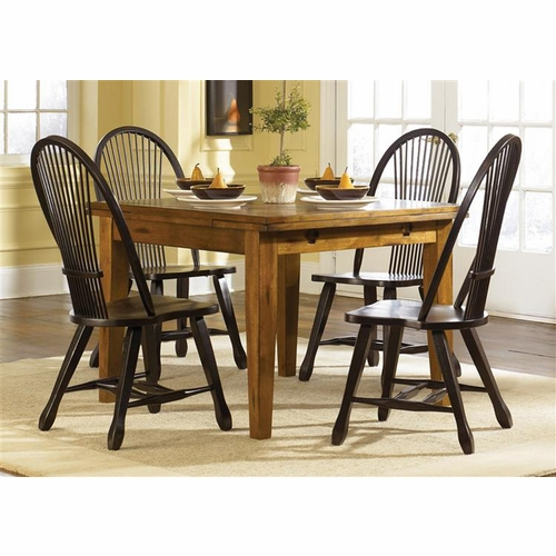Liberty Furniture - Treasures Opt 5 Piece Retractable Table Set  - 17-CD-O5RTS