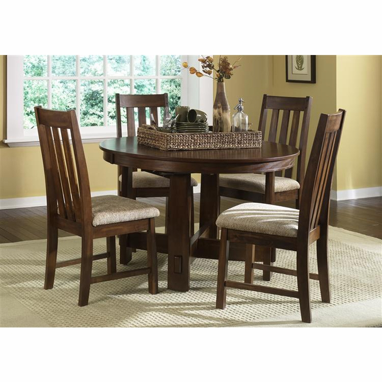 Liberty Furniture - Urban Mission 5 Piece Leg Table Set  - 27-CD-5PCS