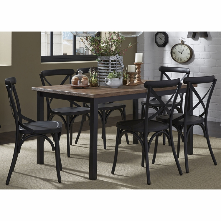 Liberty Furniture - Vintage 7 Piece Rectangular Table Set - 179-CD-7RLS
