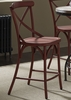 Liberty Furniture - Vintage X Back Counter Chair (Set of 2) - Red - 179-B300524-R