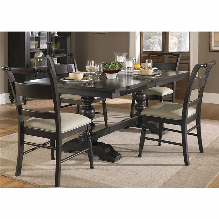 Liberty Furniture - Whitney 5 Piece Trestle Table Set  - 661-CD-5TRS