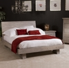 Ligna - Zen Complete Eastern King Low Profile Bed in Driftwood