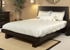 Ligna - Zen Complete Eastern King Low Profile Bed in Ebony