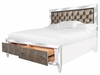 Magnussen - Monroe Cal. King Panel Bed With Storage Footboard