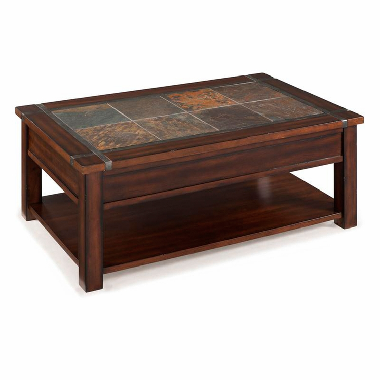 Roanoke Rectangular Lift-Top Cocktail Table