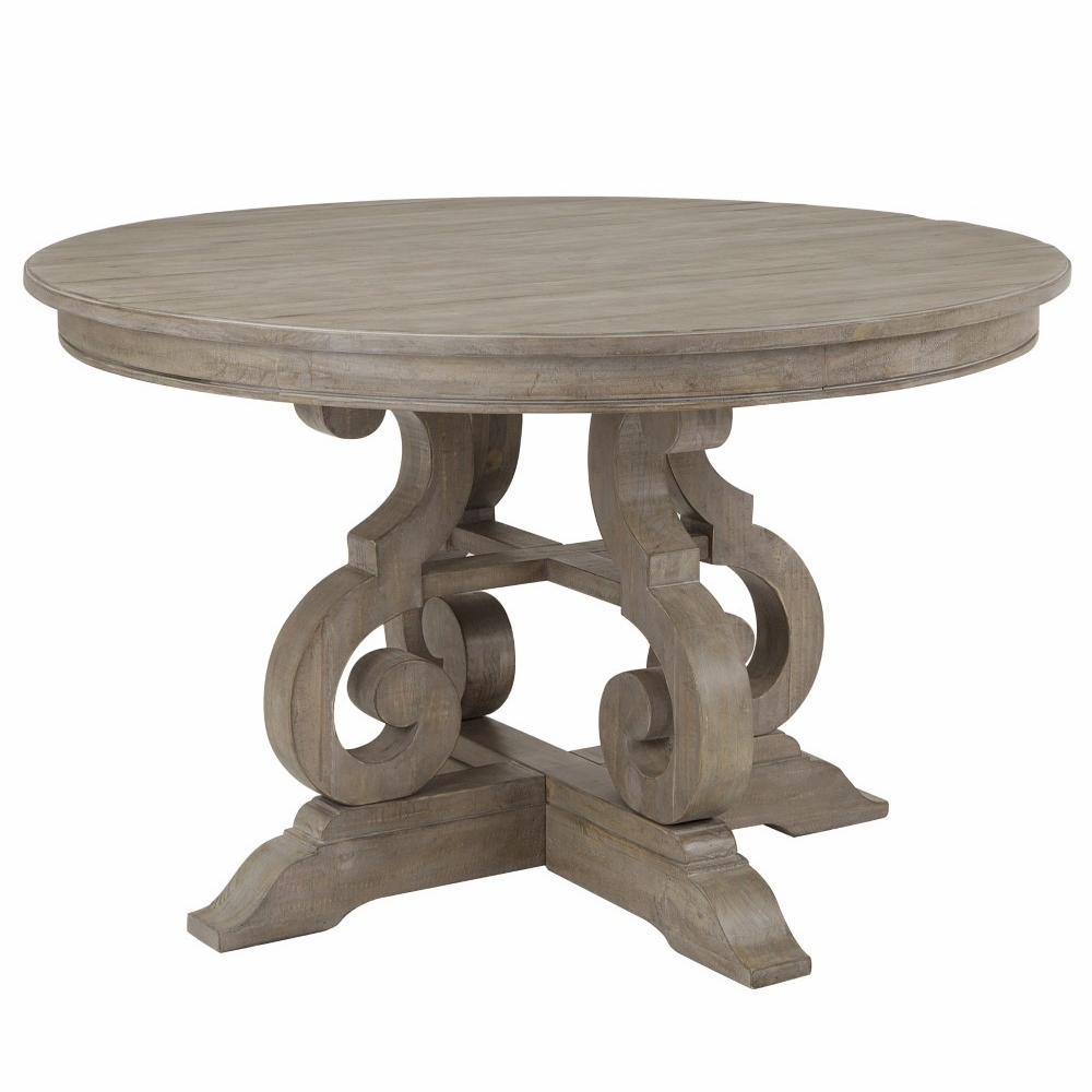 Remarkable Magnussen Tinley Park 48 Round Dining Table D4646 22 Squirreltailoven Fun Painted Chair Ideas Images Squirreltailovenorg