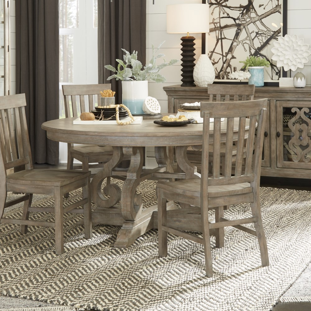 "Magnussen - Tinley Park 60"" Round Dining Table - D4646-23"