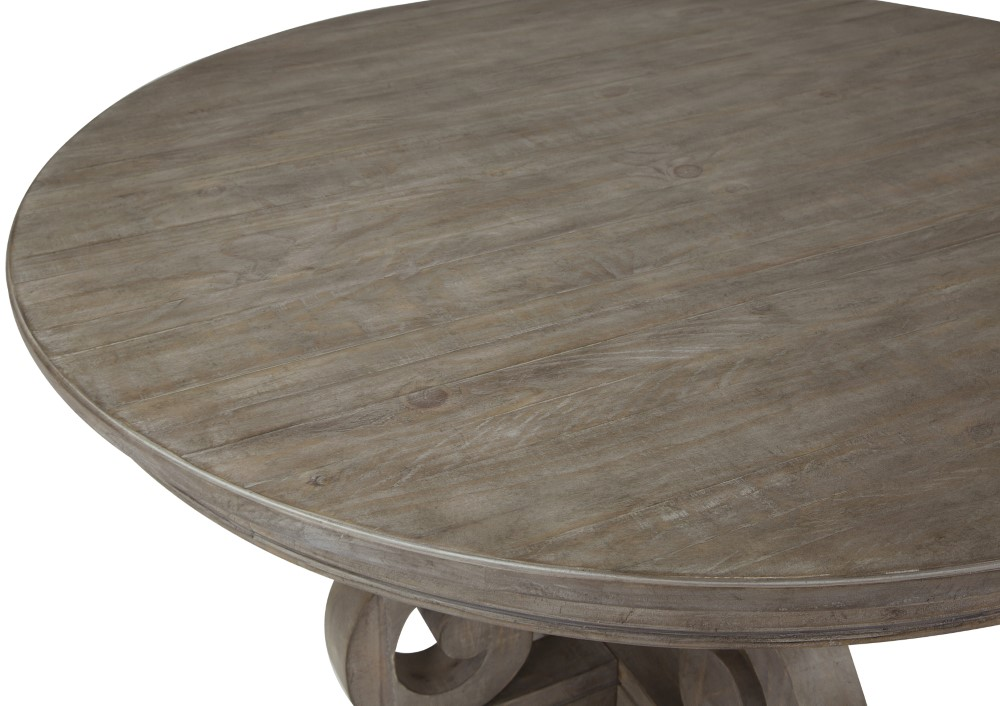Tremendous Magnussen Tinley Park 60 Round Dining Table D4646 23 Gmtry Best Dining Table And Chair Ideas Images Gmtryco