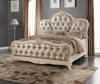 Meridian Furniture - Marquee Pearl White King Bed - Marquee-K