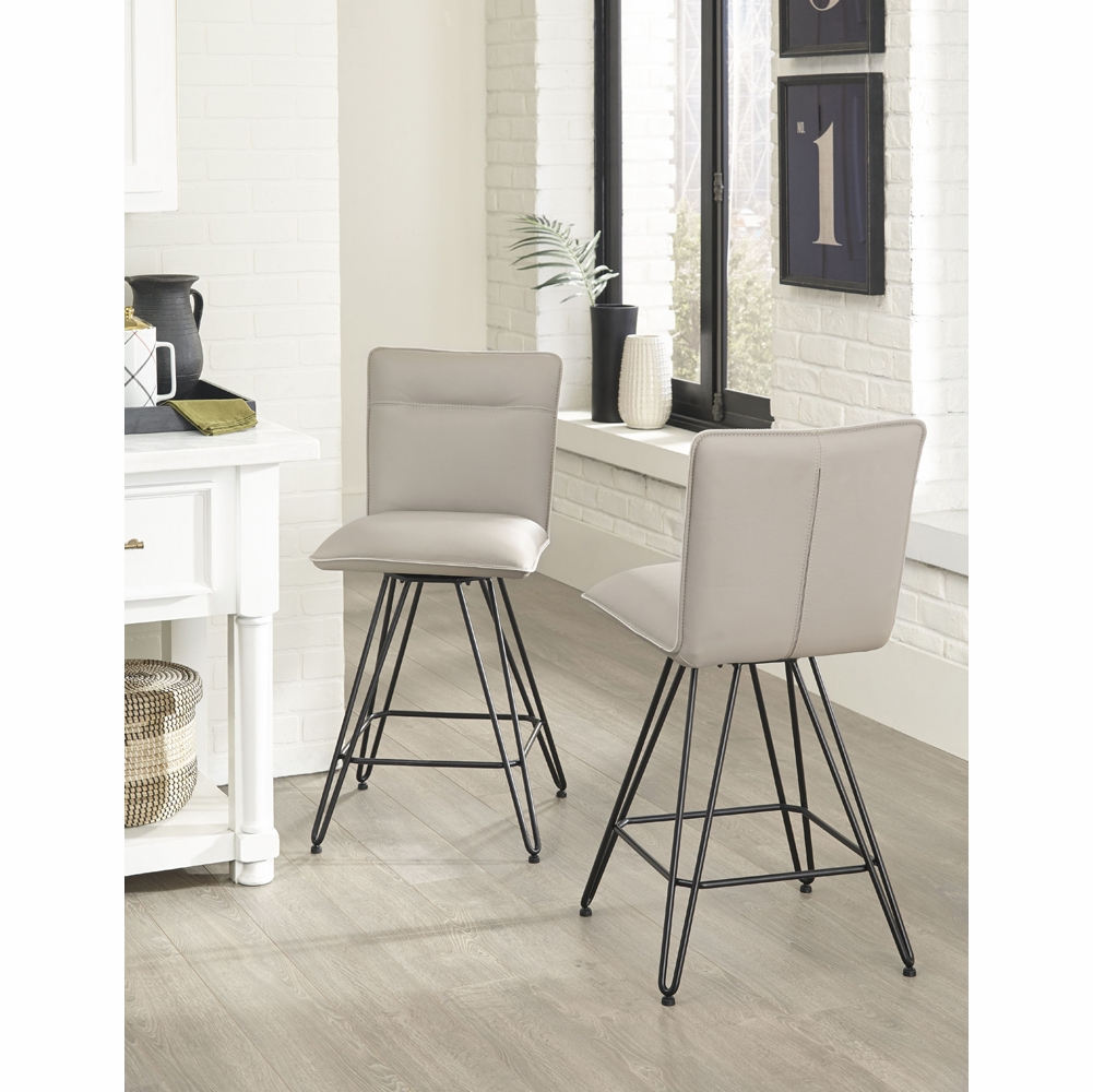 Tremendous Modus Furniture Demi Hairpin Leg Swivel Counter Stool In Cobalt Set Of 2 9Le870D Pdpeps Interior Chair Design Pdpepsorg