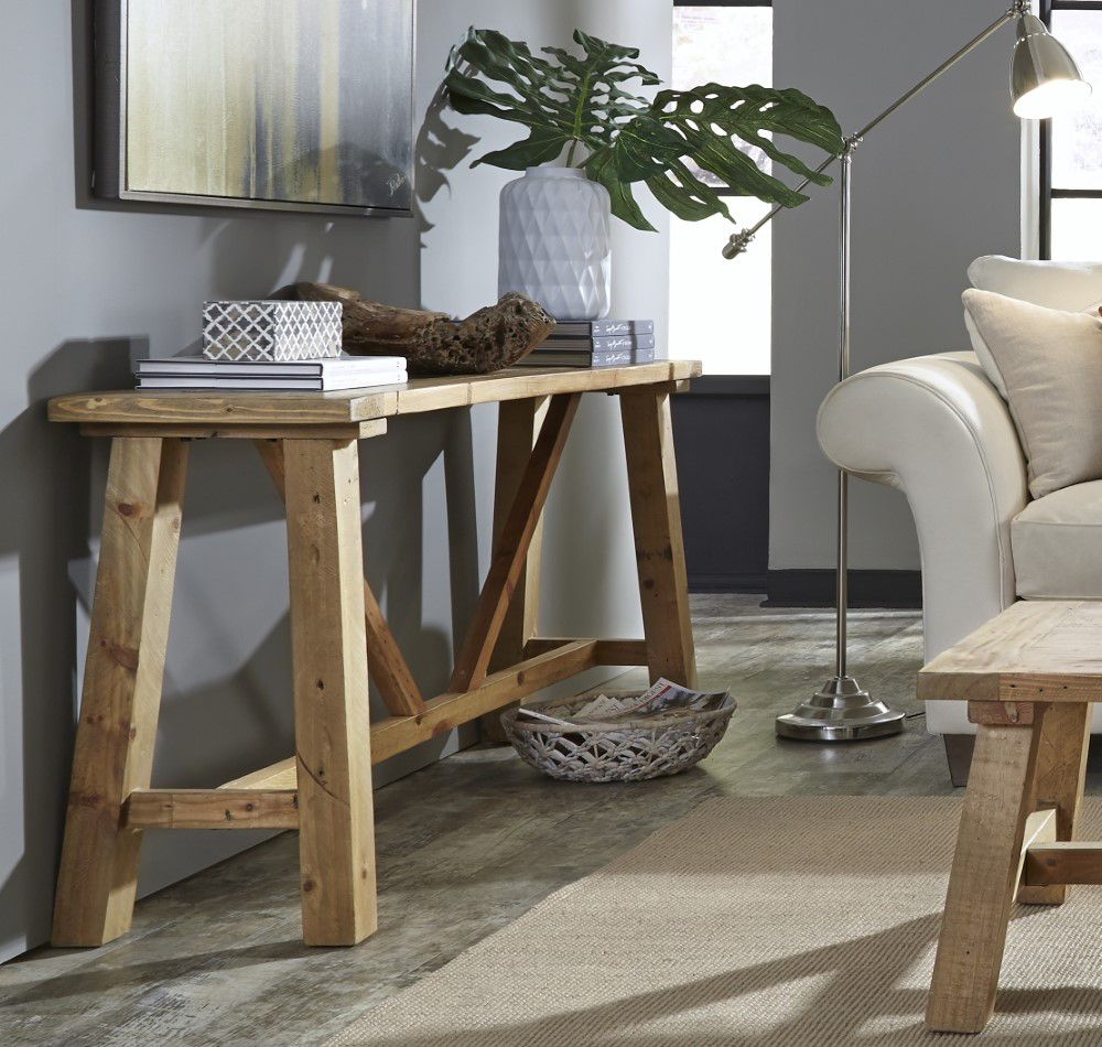 Modus Furniture Harby Reclaimed Wood Console Table In