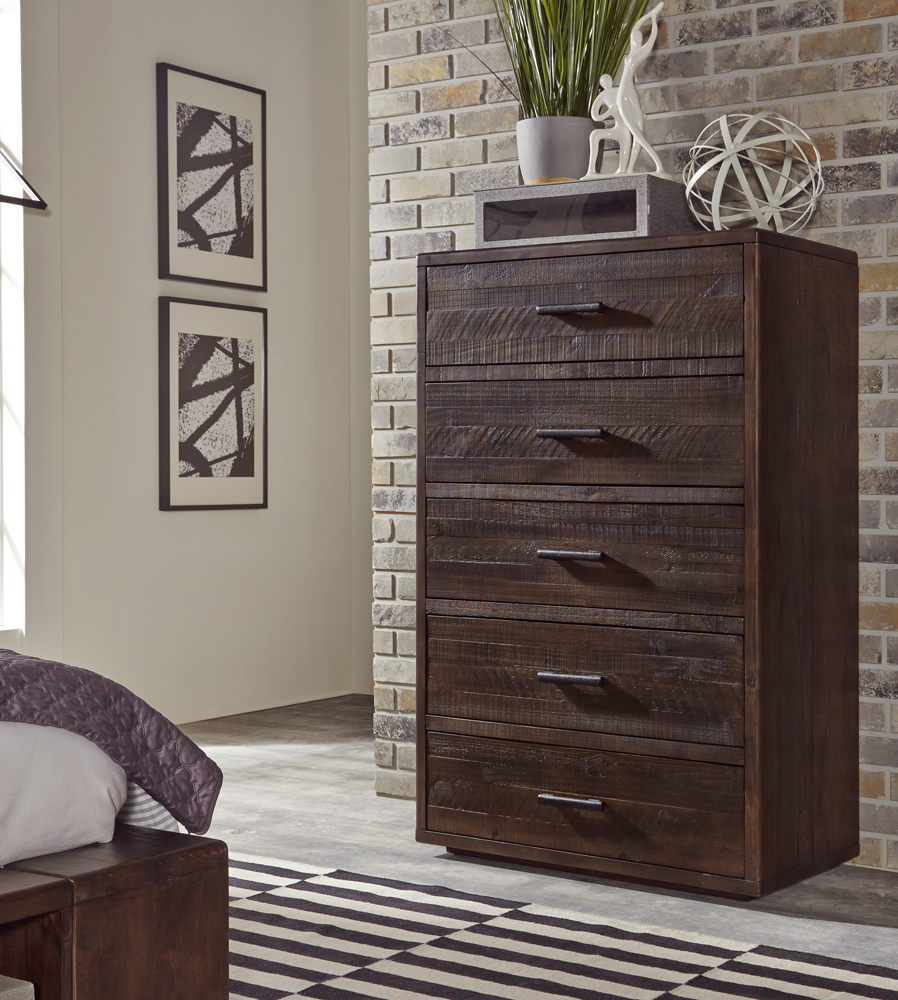 Mckinney Five Drawer Solid Wood Chest