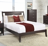 Modus Furniture - Nevis California King Size Low Profile Sleigh Bed in Espresso - NV23L6