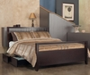Modus Furniture - Nevis California King-size Platform Storage Bed in Espresso - NV23S6