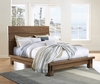 Modus Furniture - Ocean Queen-size Solid Wood Platform Bed in Natural Sengon - 8C79P5