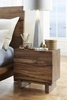 Modus Furniture - Ocean Two Drawer Solid Wood Nightstand in Natural Sengon - 8C7981