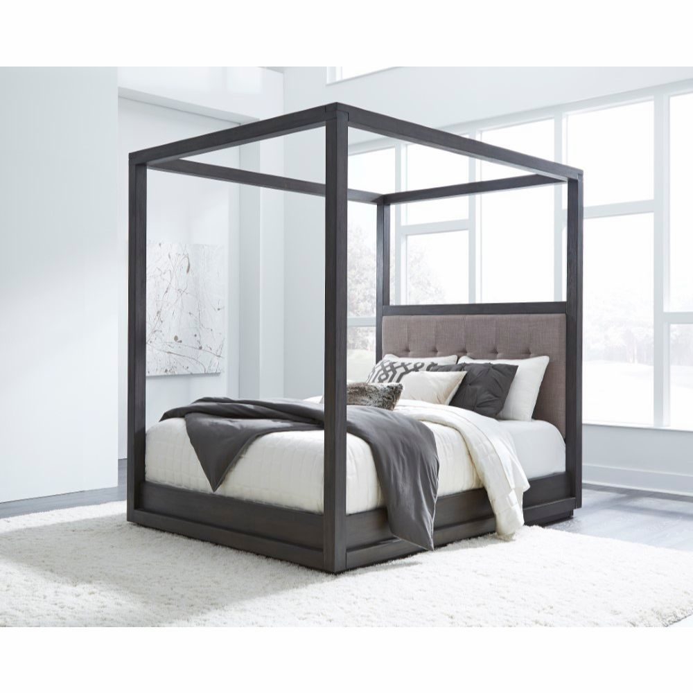 - Modus Furniture - Oxford California King-Size Canopy Bed In