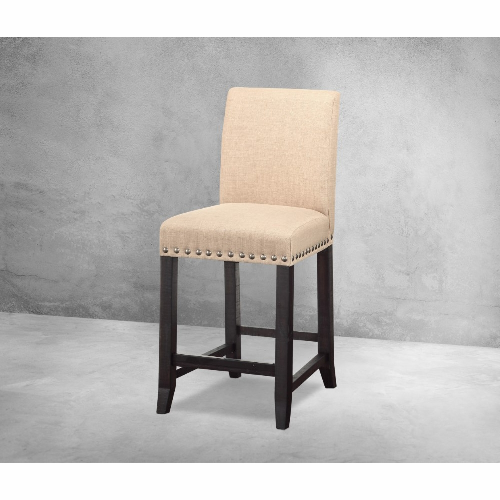 Modus Furniture - Yosemite Upholstered Kitchen Counter Stool in Cafe (Set  of 2) - 7YC970F