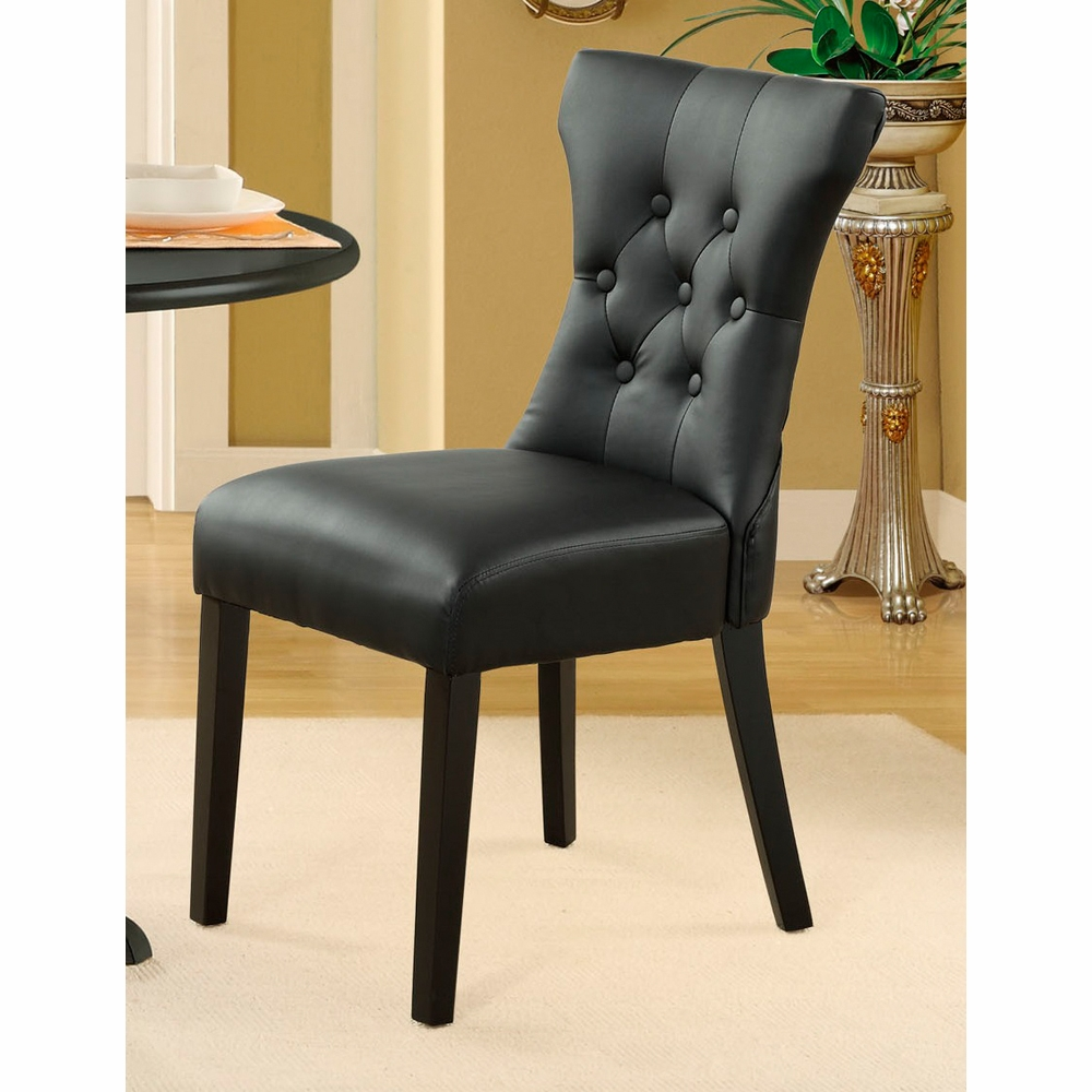Modway - Silhouette Dining Side Chair in Black - EEI-812-BLK