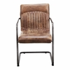 Moe's Home - Ansel Arm Chair in Light Brown (Set of 2) - PK-1052-03