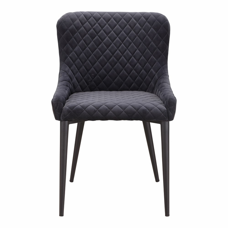 Moe's Home - Etta Dining Chair in Dark Grey - ER-2047-25