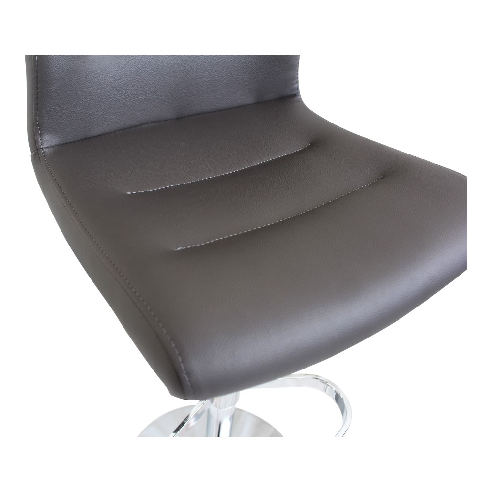 Moe S Home Hep Adjustable Stool In Grey Uu 1007 15
