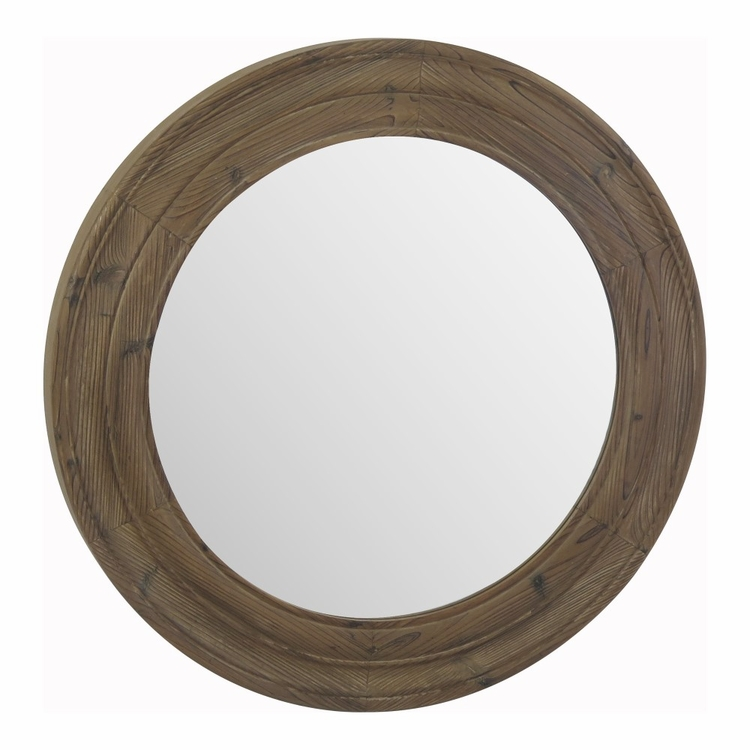 Moe's Home - Porthole Mirror Brown - MH-1072-20