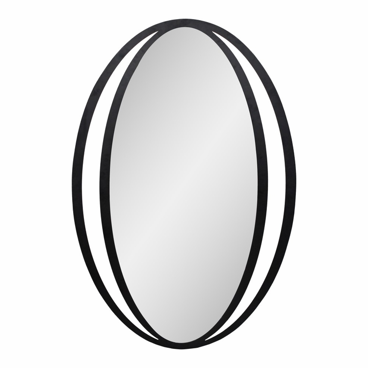 Moe's Home - Reflect Mirror in Black - TY-1039-02