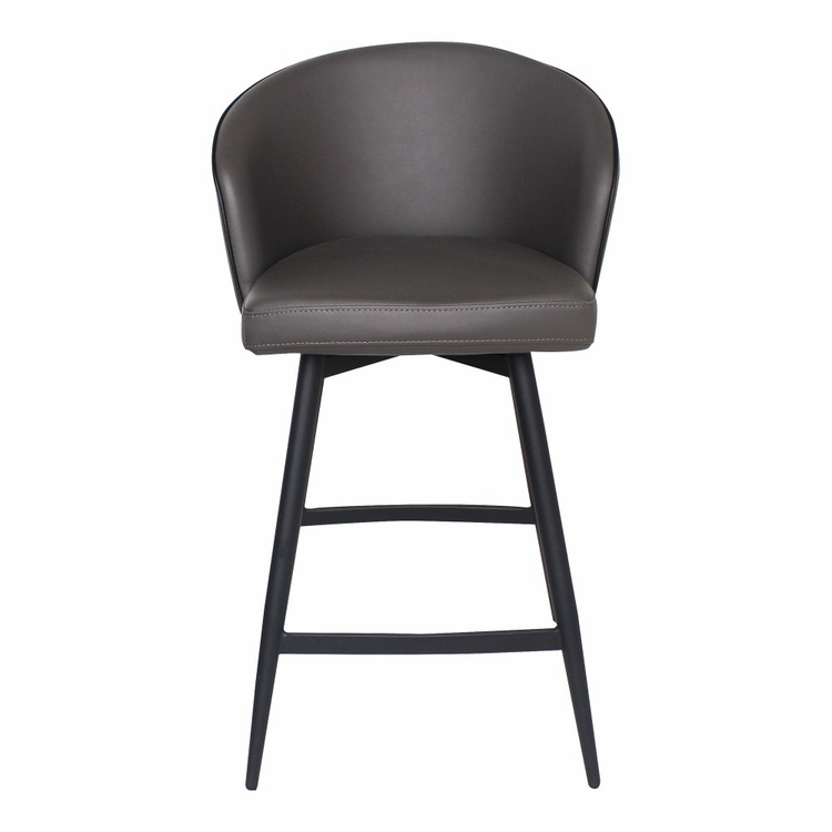 Moe's Home - Webber Counter Stool in Charcoal Grey - UU-1004-07