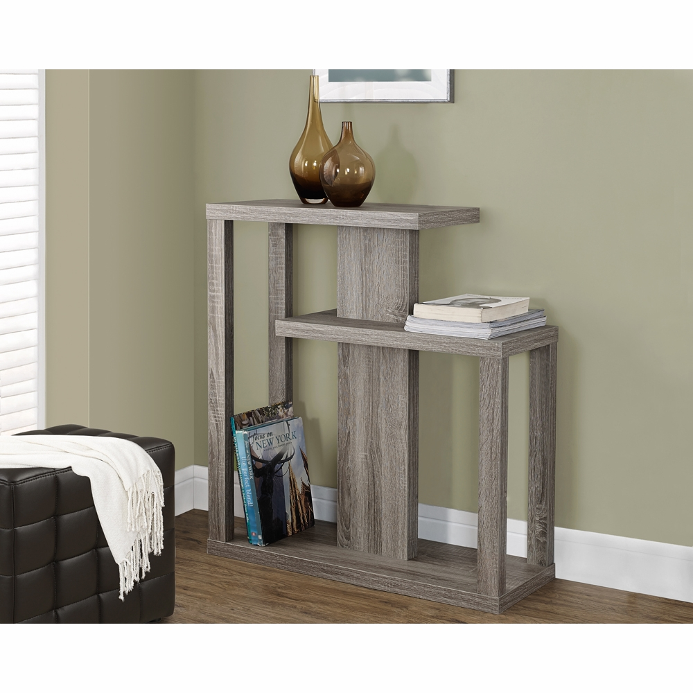 Monarch Specialties Accent Table 32 Quot L Dark Taupe Hall