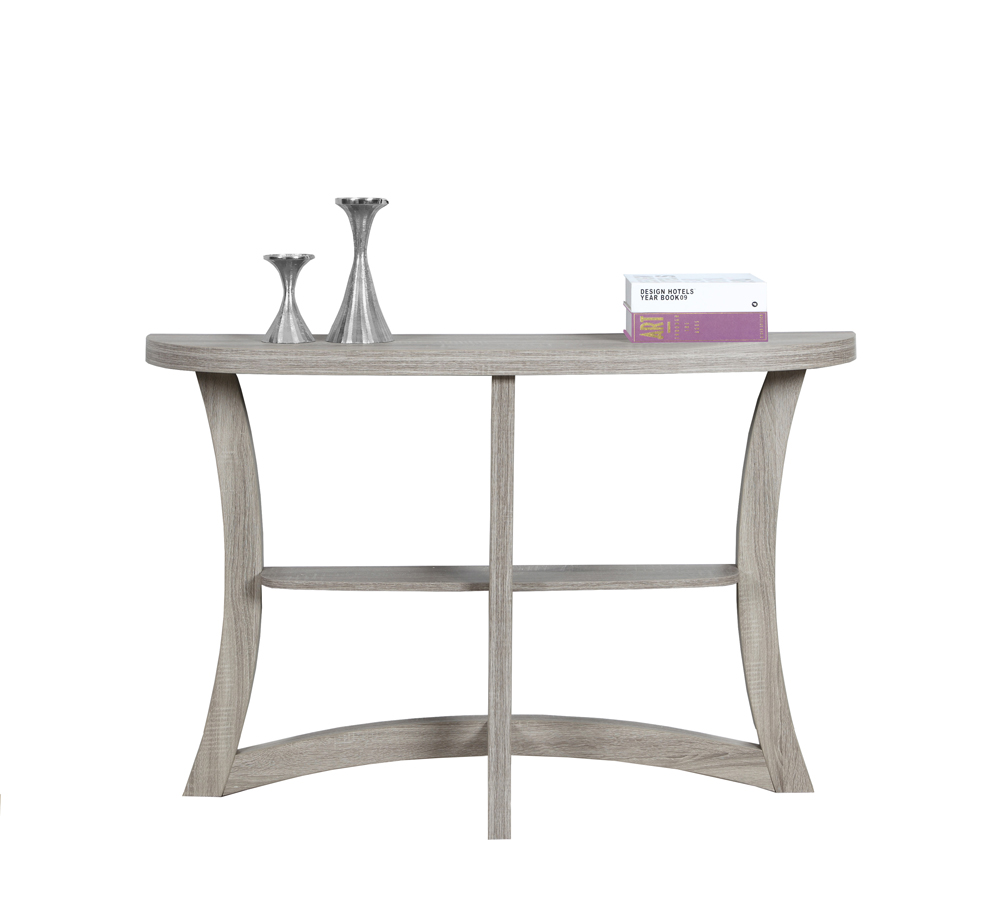 Monarch Specialties Accent Table 47 Quot L Dark Taupe Hall