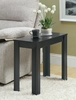 Monarch Specialties - Black Oak Accent Side Table - I 3110