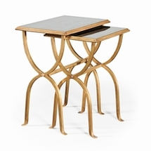 Nesting Tables by Jonathan Charles Fine Furniture