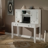 """Parker House - Boca 2PC 47"""" Writing Desk With Hutch Set in Cottage White"""