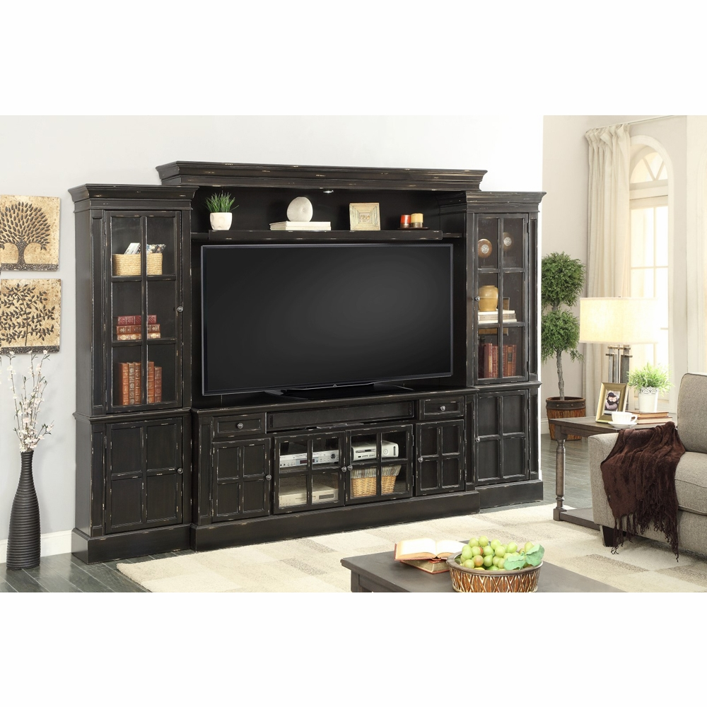 Parker House Concord 4pc 119 Quot Entertainment Wall Unit In