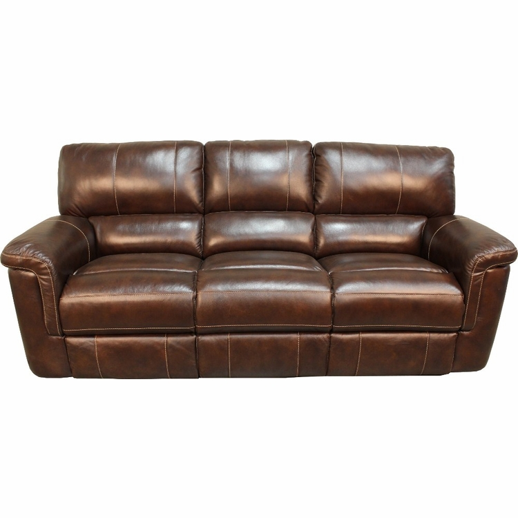 Parker House Hitchcock Sofa Dual Power Recliner In Cigar